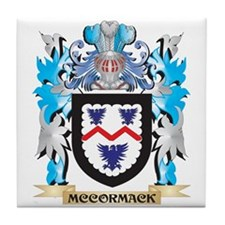 Mccormack Coat of Arms - Family Crest Tile Coaster