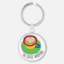 The Coffee Whisperer Keychains