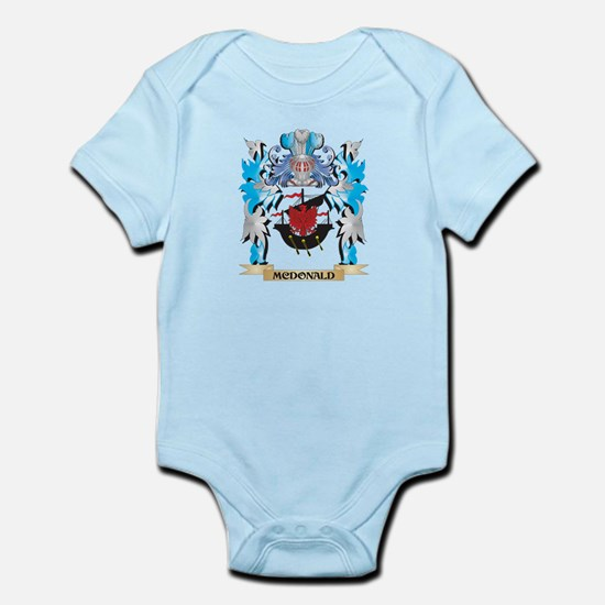 Mcdonald Coat of Arms - Family Crest Body Suit