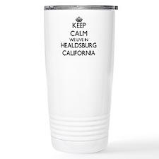 Keep calm we live in He Travel Mug