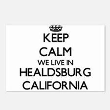 Keep calm we live in Heal Postcards (Package of 8)