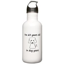 9 dog years 6 Water Bottle