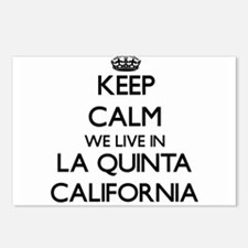 Keep calm we live in La Q Postcards (Package of 8)