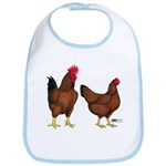 Red Broiler Pair Bib