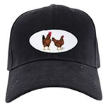 Red Broiler Pair Black Cap