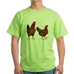 Red Broiler Pair Green T-Shirt