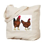 Red Broiler Pair Tote Bag