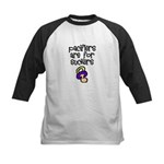 Pacifiers are for suckers Kids Baseball Jersey