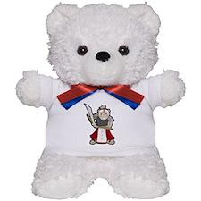 Samurai Hamster Teddy Bear