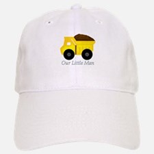 Our Little Man Dump Truck Baseball Cap