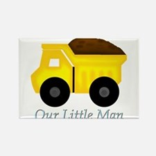 Our Little Man Dump Truck Magnets