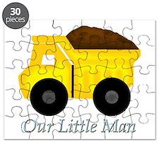 Our Little Man Dump Truck Puzzle