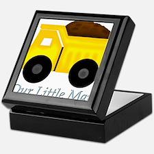 Our Little Man Dump Truck Keepsake Box