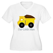 Our Little Man Dump Truck Plus Size T-Shirt
