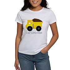 Our Little Man Dump Truck T-Shirt