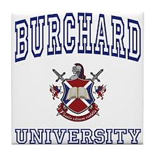 BURCHARD University Tile Coaster