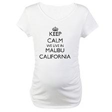 Keep calm we live in Malibu Cali Shirt