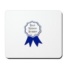 blue ribbon blogger.jpg Mousepad