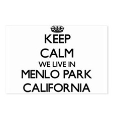 Keep calm we live in Menl Postcards (Package of 8)