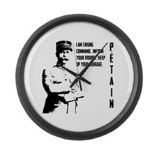 Petain Large Wall Clock