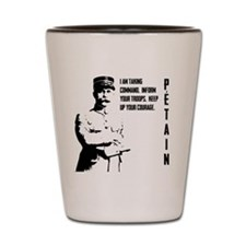 Petain Shot Glass