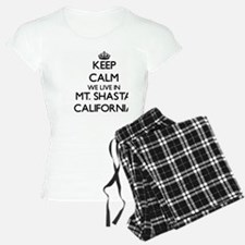 Keep calm we live in Mt. Sh Pajamas