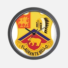 83 Field Artillery Regiment.psd.png Wall Clock