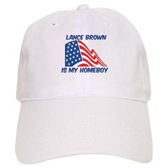 LANCE BROWN is my homeboy Baseball Cap