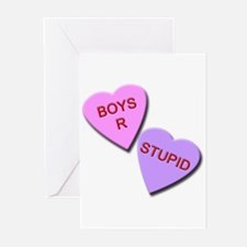 Cute Stupid boys Greeting Cards (Pk of 20)