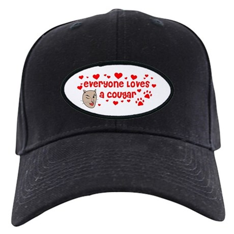 Everyone Loves a Cougar Black Cap
