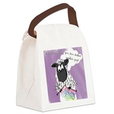 Counting Sheep Canvas Lunch Bag