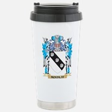 Mckinlay Coat of Arms - Stainless Steel Travel Mug