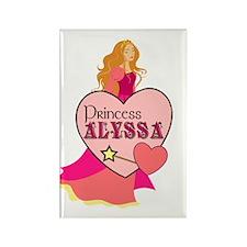 Princess Alyssa Rectangle Magnet