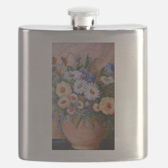 Presidential Floral arrangement Flask