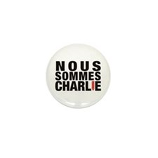 Nous Sommes Charlie Mini Button (10 Pack)