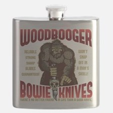 Woodbooger Bowie Knives Flask