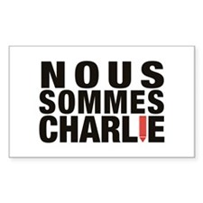 Nous Sommes Charlie Decal