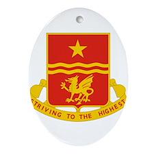 30 Field Artillery Regiment.psd.pn Ornament (Oval)