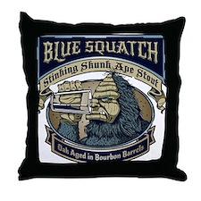 Cute Finding bigfoot Throw Pillow