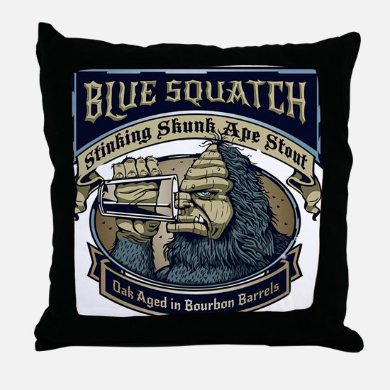 Unique Finding bigfoot Throw Pillow