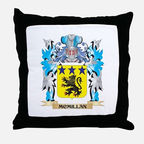 Mcmillan Coat of Arms - Family Crest Throw Pillow