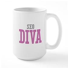 SEO DIVA Mugs
