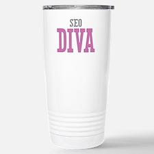 SEO DIVA Stainless Steel Travel Mug