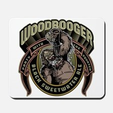 Woodbooger Black Sweetwater Ale Mousepad