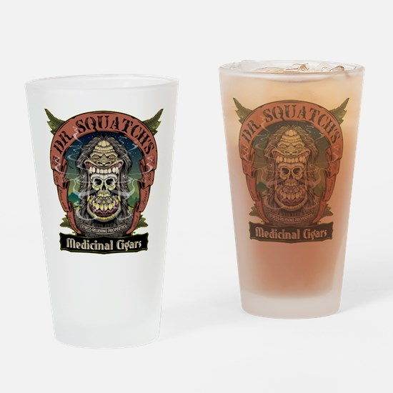 Dr. Squatchs Medicinal Cigars Drinking Glass