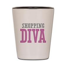 Shopping DIVA Shot Glass