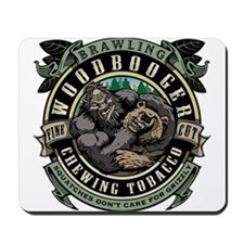 Brawling Woodbooger Chewing Tobacco Mousepad
