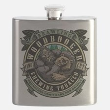 Brawling Woodbooger Chewing Tobacco Flask