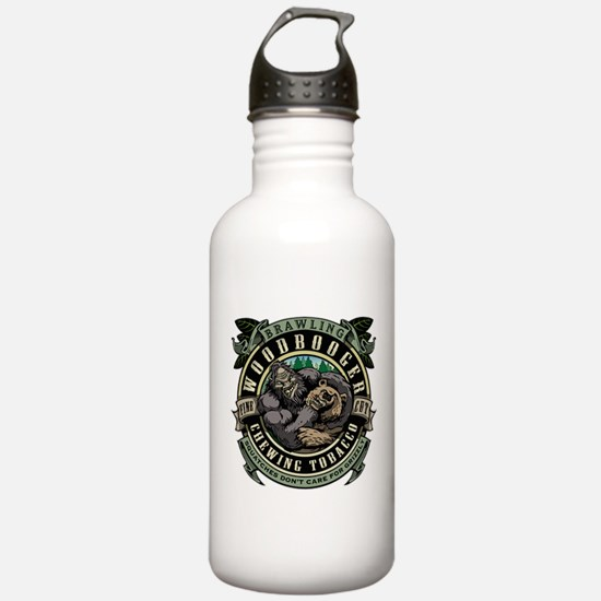 Brawling Woodbooger Chewing Tobacco Water Bottle