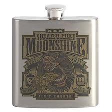 Squatch Puke Hillbilly Moonshine Flask